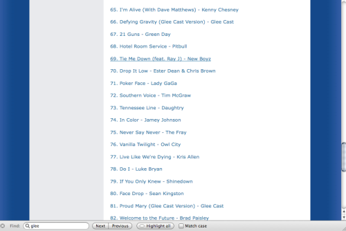 Top 100 iTunes Downloads
