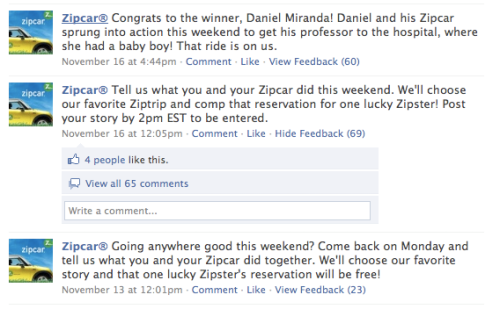 Zipcar Weekend Fun