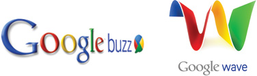 Google Buzz and Google Wave